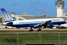 N527UA United Airlines Boeing 757-200