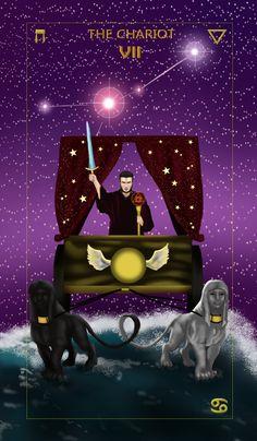 Learn The Chariot Tarot Card Meaning. The Chariot Tarot, Tarot Card Meanings, Astral Projection, Illusion Art, China Art, Major Arcana, Psychedelic Art, Tarot Decks, Tarot Cards