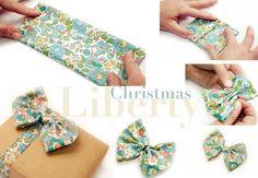 Liberty Christmas crafting idea