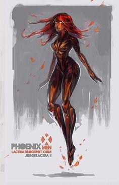 Rogue Marvel Concept Art Marvel rogue c Jean Grey Phoenix, Dark Phoenix, Phoenix Force, Marvel Comics, Marvel Art, Marvel Universe, Comic Books Art, Comic Art, Marvel Concept Art