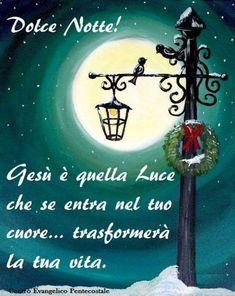 Buonanotte immagini con frasi religiose 4133 - BuongiornoConGesu.it Christmas Ornaments, Dolce, Gifs, Pink, World, Images For Good Night, Be Nice, Peace, December