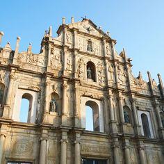 The Ruins of St. Paul. Pro-tip: come super early before the tour busses start arriving. We arrived at 8:30AM and it was already packed! #TheTravelIntern #Macau