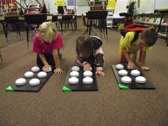 Cute activity to learn the dot numbers and formation