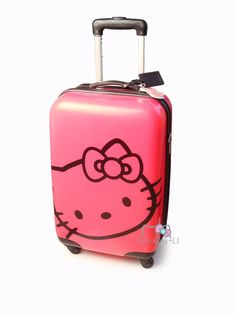 Hello Kitty Luggage another cute one for Hannah