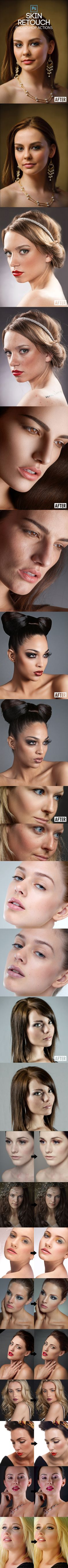 Fast Skin Retouching Actions