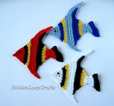 Tropical Fish Applique | YouCanMakeThis.com