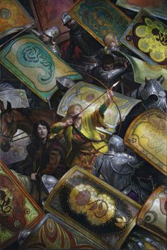 The Archer of the Rose by Donato Giancola