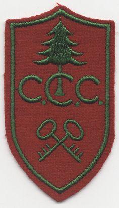 Civilian Conservation Corps Patch