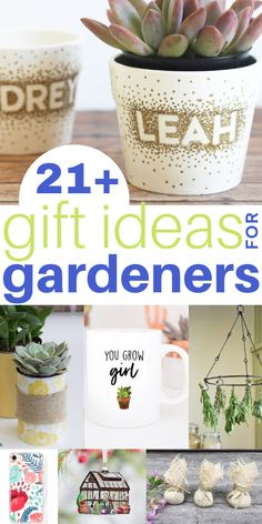 Fabulous Gardening Gift Ideas for Gardeners – I'd love to receive any of these gift ideas for myself as gardening is such a passion of mine! Add this to your garden boards!