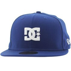 29f1e66a853aab DC The Streets New Era Fitted Cap - Los Angeles (royal)