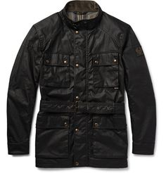dbb4d68e00 Belstaff Roadmaster Waxed-Cotton Jacket | MR PORTER Mr Porter, Military  Jacket, Motorcycle