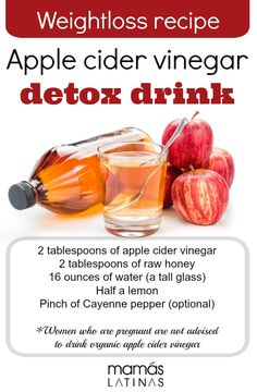Apple cider vinegar (ACV) is truly a miracle drink that helps your body detox, heal, and even lose the weight. It's versatile enough to . Braggs Apple Cider Vinegar, Organic Apple Cider Vinegar, Acv, Apple Recipes, Healthy Recipes, Pregnancy Eating, Cucumber Detox Water, Coconut Oil Weight Loss, Vinegar Weight Loss