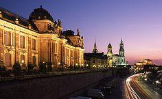 Photo of Dresden at night (© Staatliche Schlösser, Burgen und Gärten Sachsen)