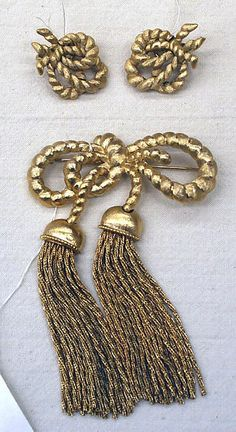 Trifari Jewelry set 1956-60