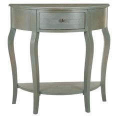 Safavieh Raul Console Table - Olive. Entry Console.