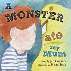 Wow - this is an amazing way of helping littles ones understand PND.  A monster ate my mum - book by Jen Faulkner