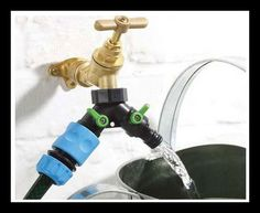 Water Tap Duo