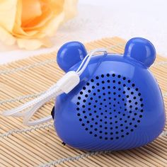 $5.48 (Buy here: http://appdeal.ru/araw ) Innovative Mouse Style Loud FM Radio Speaker Audio Stereo for iPhone Smartphone Computer MP3 MP4 Player for just $5.48