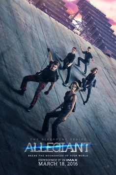 OMG NEW POSTER FOR ALLEGIANT!! the trailer came out today so excited