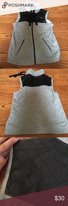 Kensie sweater Zip up sweater. Sleeveless. Kensie Sweaters