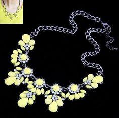 Fashion sweet flower Women's Necklace $8.99 www.missmolly.com.au #missmollyau #accessories #necklaces #jewellery #pendants #fashion #womensfashion