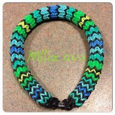 Rainbow Loom Hexafish 6 Pin Fishtail Bracelet