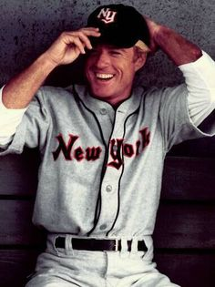 The Natural, Roy Hobbs. AKA, Robert Redford.