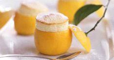 Суфле: летний десерт из лимона