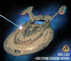 REBEL-class U.S.S. ROSA PARKS.  Multipurpose Deep-space Explorer / Heavy Battlecruiser