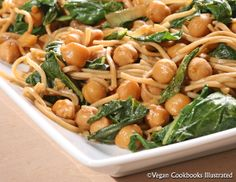 Ginger Bok Choy and Soba from the vegan cookbook Appetite for Reduction
