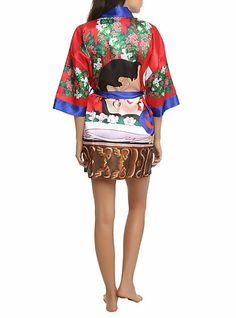 Disney Snow White Satin Robe | Hot Topic