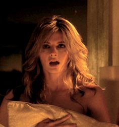 Oh God, the hair! Not out of place after 3 or 4 times and getting tossed over the bed Amazing Body Beckett