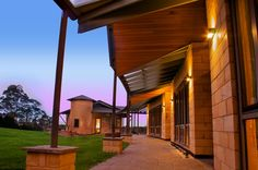 Australian Architecture, Winter Sun, Building Materials, Facade, Minimalism, Rustic, Mansions, Light Brick, House Styles