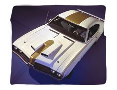 """1969 Hurst Olds Photo Blanket / Wall Banner 50 x 60"""" or 60 x 80"""" – GMPhotoGifts.com"""