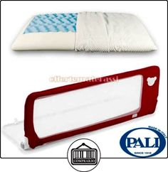 Barrera de seguridad Pali Good 150cm roja + cojín de gel Jabón  ✿ Seguridad para tu bebé - (Protege a tus hijos) ✿ ▬► Ver oferta: http://comprar.io/goto/B01LNN0VWE