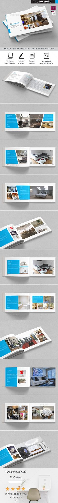 Interio Design Brochure Template Brochure template, Brochures - interior design brochure template