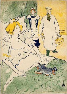 lithography by Henri de Toulouse-Lautrec (1864-1901), 1894, L'artisan moderne.