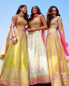 Image may contain: 3 people, people standing and outdoorYou can find Summer wedding and more on our website.Image may contain: 3 people, people standing and outdoor Indian Gowns Dresses, Indian Fashion Dresses, Indian Designer Outfits, Indian Designers, Indian Fashion Trends, Indian Attire, Indian Ethnic Wear, Indian Lehenga, Lehenga Choli