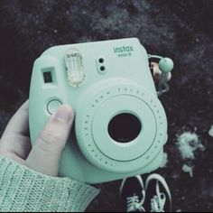 Instax mini 8 mint green - the perfect hiking/camping companion for those no tech trips!