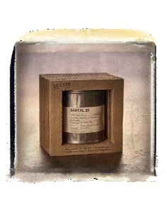 This is the scent they use at Bungalow!  SANTAL 26 - VINTAGE CANDLE