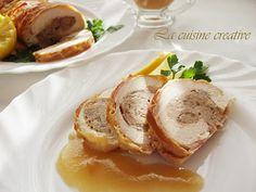 Svecano rolovano pile/Rolled chicken