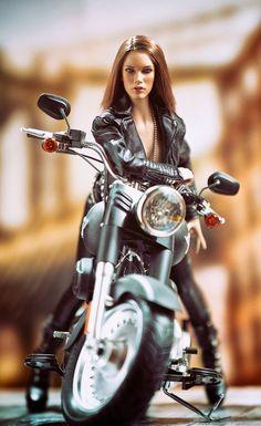 Harley-Davidson FLHTCU - Electra Glide Ultra Classic #motorchick #motorcycle #motorbike