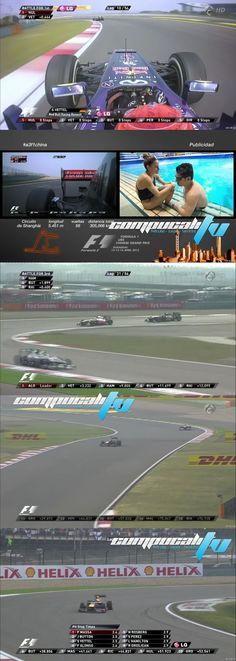 Carrera GP China 3 Carrera de la Formula 1 Calidad HD con Audio español Latino Formato MKV Ligero Shanghái acoge este domingo la tercera carrera de la temporada