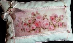 Shabby Chic Cottage Chic Decorative Pillow with by OhMyThatsPretty