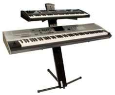 Ultimate Support AX48 Pro APEX Keyboard Stand (Black) by Ultimate Support. $199.99. Everything keyboard players have come to appreciate about the APEX keyboard stand for over two decades is still available in the new APEX AX-48 Pro. It's THE original column style keyboard stand that securely holds two keyboards out of the box (up to 125 lbs. each!). The patented Tribar arms are height adjustable, the support legs are super stable, and it's incredibly easy to setup, ...