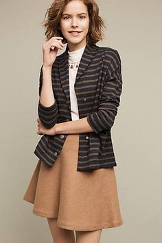 Belfast Striped Cardigan