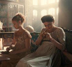 Jane Bennet - Bella Heathcote - Mary Bennet - Millie Brady - Pride and Prejudice and Zombies