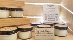 Welcome @soymuchbrighter to our store! Handpoured candles made with you and the environment in mind!  #soymuchbrighterlove #soycandles #somerville #madelocal #UnionSquareMA #boston #CambMA #handmade #soup by beadkreative December 06 2015 at 06:52AM
