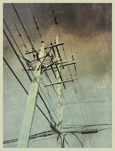 iPhoneography , 8-30-13, Hard Wired - Armin Mersmann
