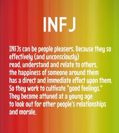 Infj infjs can be people pleasers. because they so effectively (and unconsciously) read, understand and relate to others, the happiness of someone around them has a direct and - Add text to your images with PixTeller